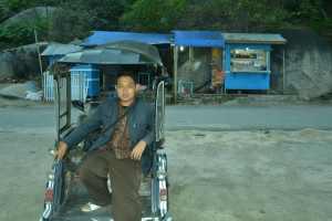 Bentor alat transportasi umum Gorontalo